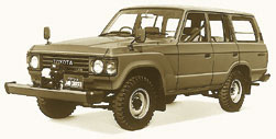 Toyota Land Cruiser-60-BJ61V Hardtop 4 Door