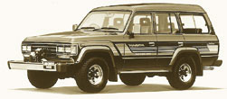 Toyota Land Cruiser-60-FJ62G Hardtop 4 Door