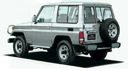 Land Cruiser 70 HZJ70 Hardtop 2 Door Short Body