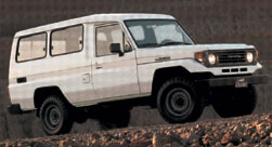 Toyota Land Cruiser 70 HZJ75V Hard Top 4 Door Long Body