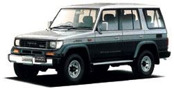 Toyota Land Cruiser 70 LJ78W Hard Top 4 Door Long Body