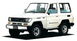 Land Cruiser 70 LJ71G Hard Top 2 Door Short Body
