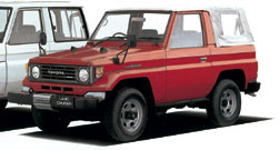 Land Cruiser 70 PZJ70 Softtop 2 Door Short Body