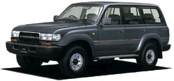Toyota Land Cruiser 80 HDJ81V Hard Top  4 Door  Long & Wide Body