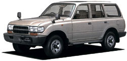 Toyota Land Cruiser 80 HZJ81V Hard Top  4 Door  Long & NarrowBody
