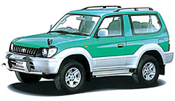 Toyota Land Cruiser 90 VZJ90W Hard Top 2 Door Short Body