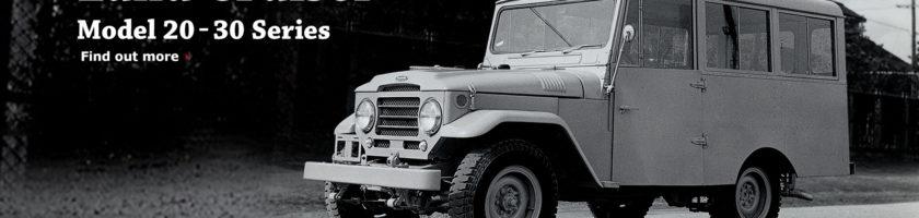 Land Cruiser Model 20